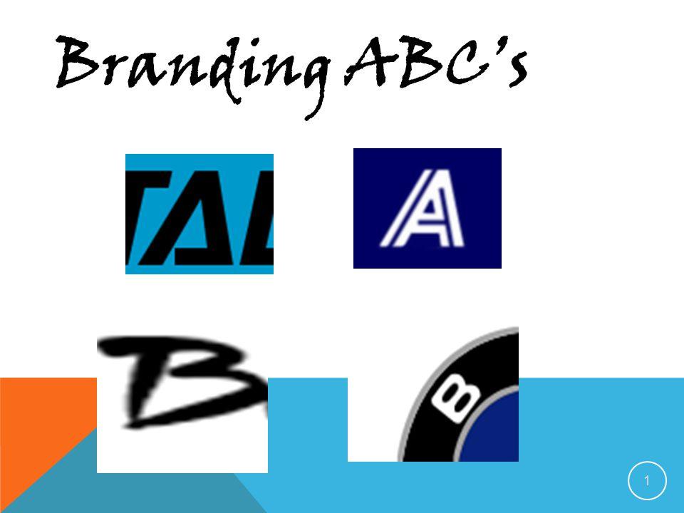 1 Branding ABC's