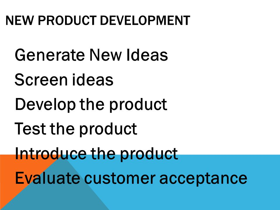 PRODUCT MIX STRATEGIES Plan on which products to make or stock Different strategies depend upon resources and company objectives.