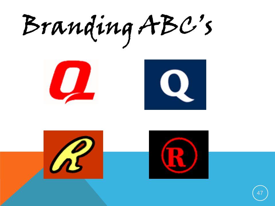 46 Branding ABC's