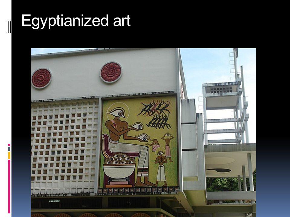 Egyptianized art
