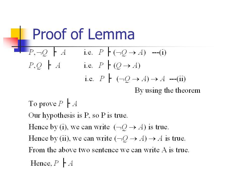 Proof of Lemma