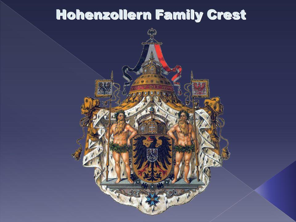 Hohenzollern Family Crest