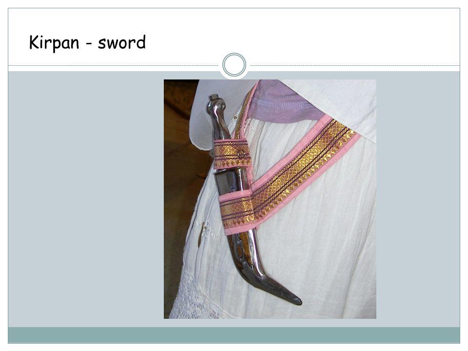 Kirpan - sword
