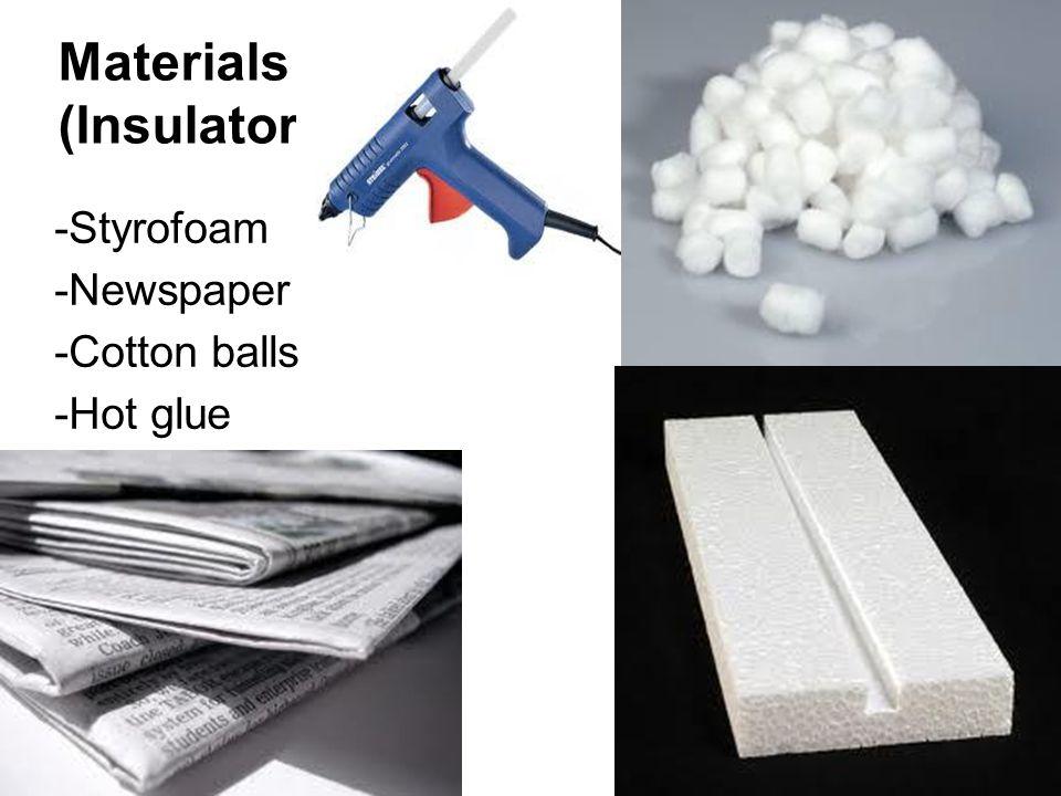 Materials (Creating) Hacksaw Sandpaper (Optional) Boxcutter (Again) Hot glue gun