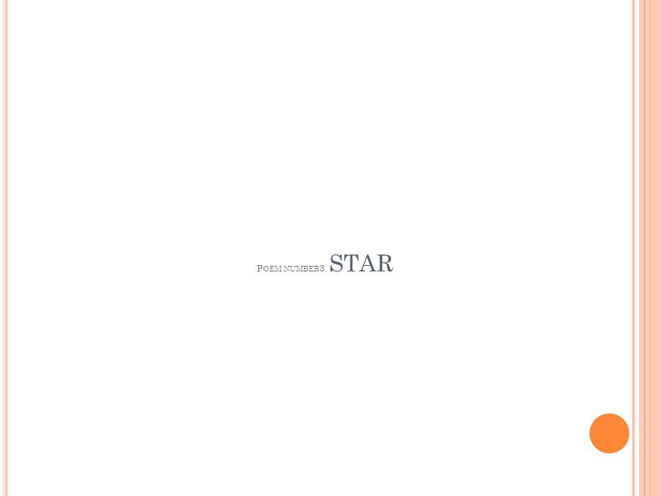 P OEM NUMBER 3 STAR
