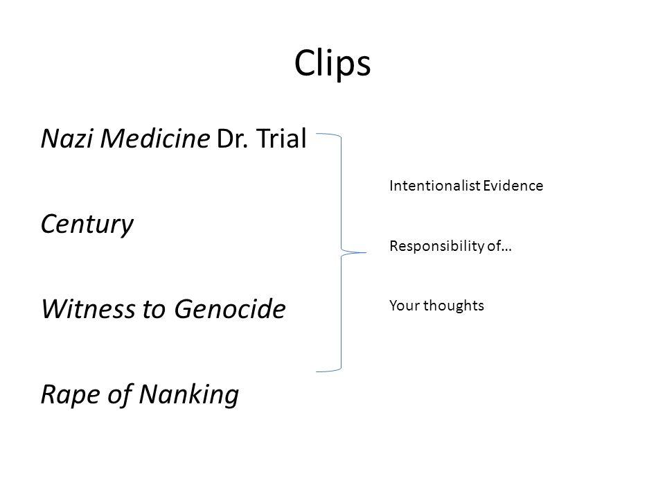 Clips Nazi Medicine Dr.