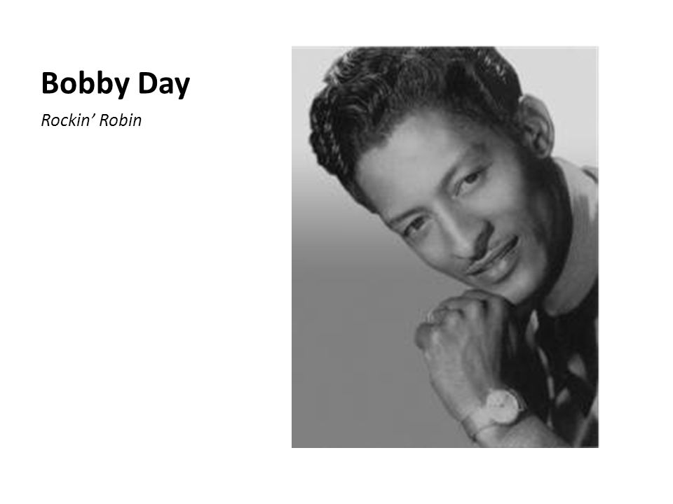 Bobby Day Rockin' Robin