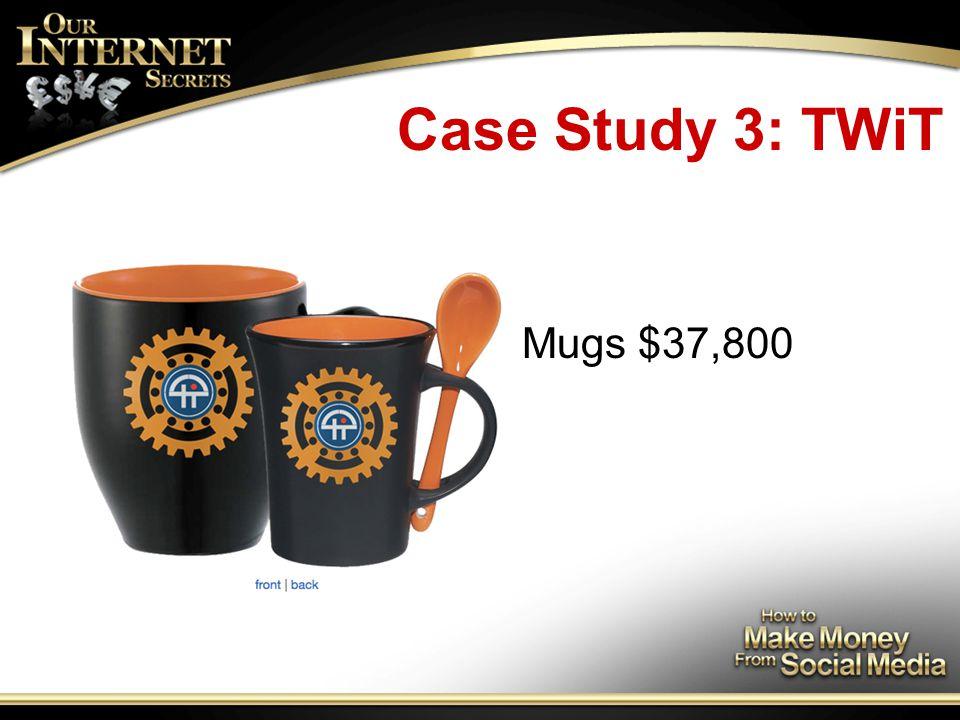 Case Study 3: TWiT Mugs $37,800