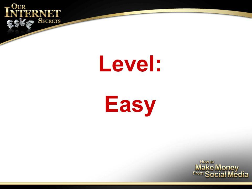 Level: Easy