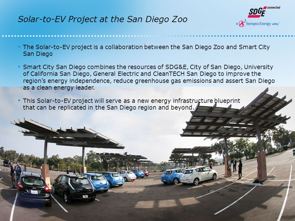 San Diego Zoo Plug-In Electric Vehicle Chargers