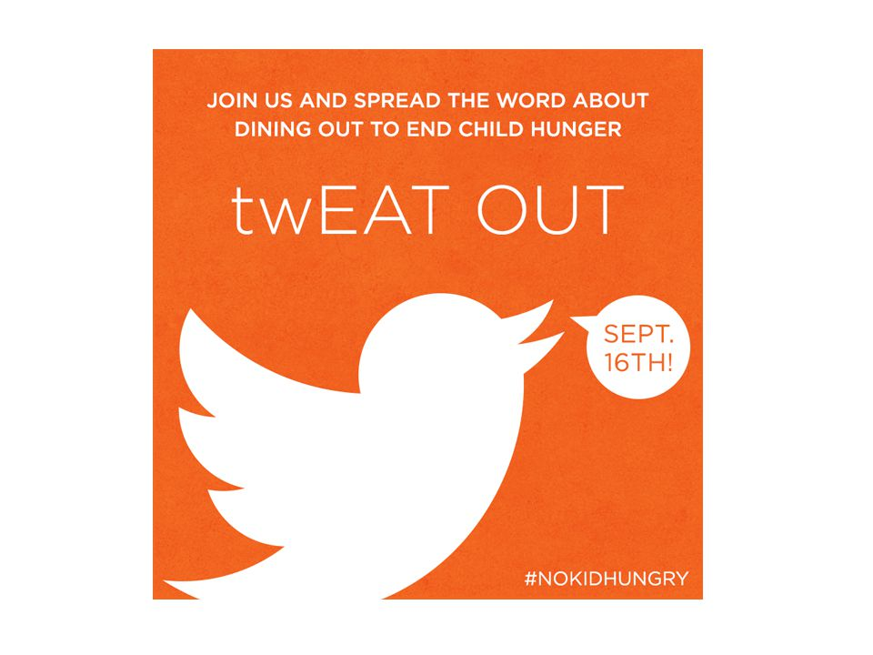 2011 Numbers #nokidhungry +10,000 tweets 93.7 million impressions Reached 8 million followers 55 new restaurants registered