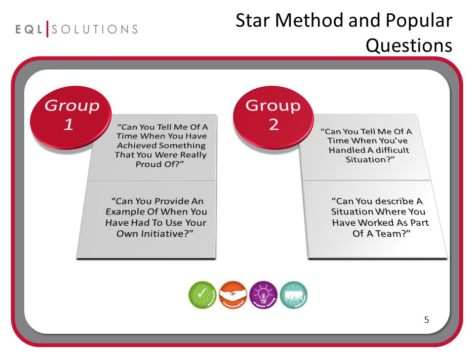 Star Method and Popular Questions 5