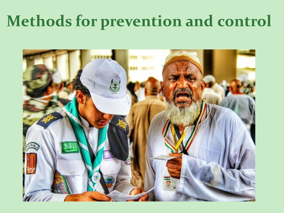 Methods for prevention and control