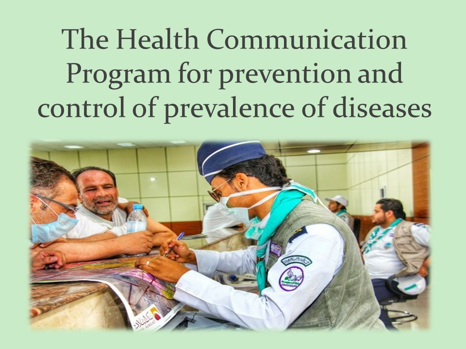 The Health Communication Program for prevention and control of prevalence of diseases