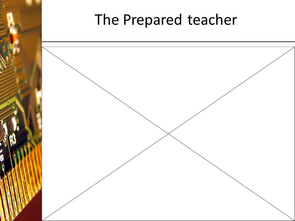 The Prepared teacher