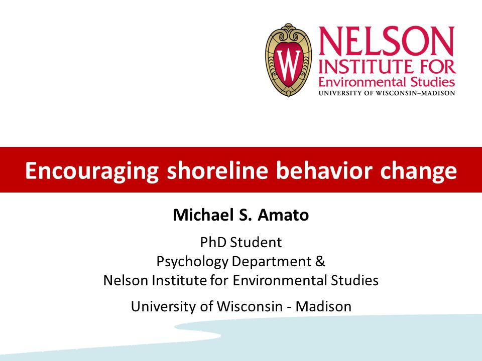Study 1: Beliefs & Goals How do people make decisions about their shore.
