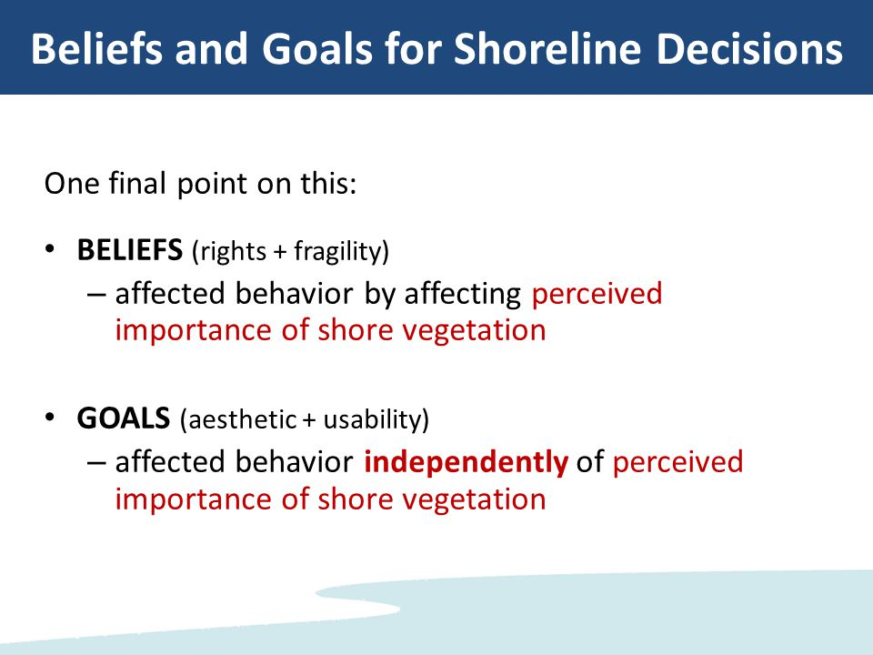 Study 2: The Barrier of Self-Perception Bias What are the barriers that prevent people from improving their shore.