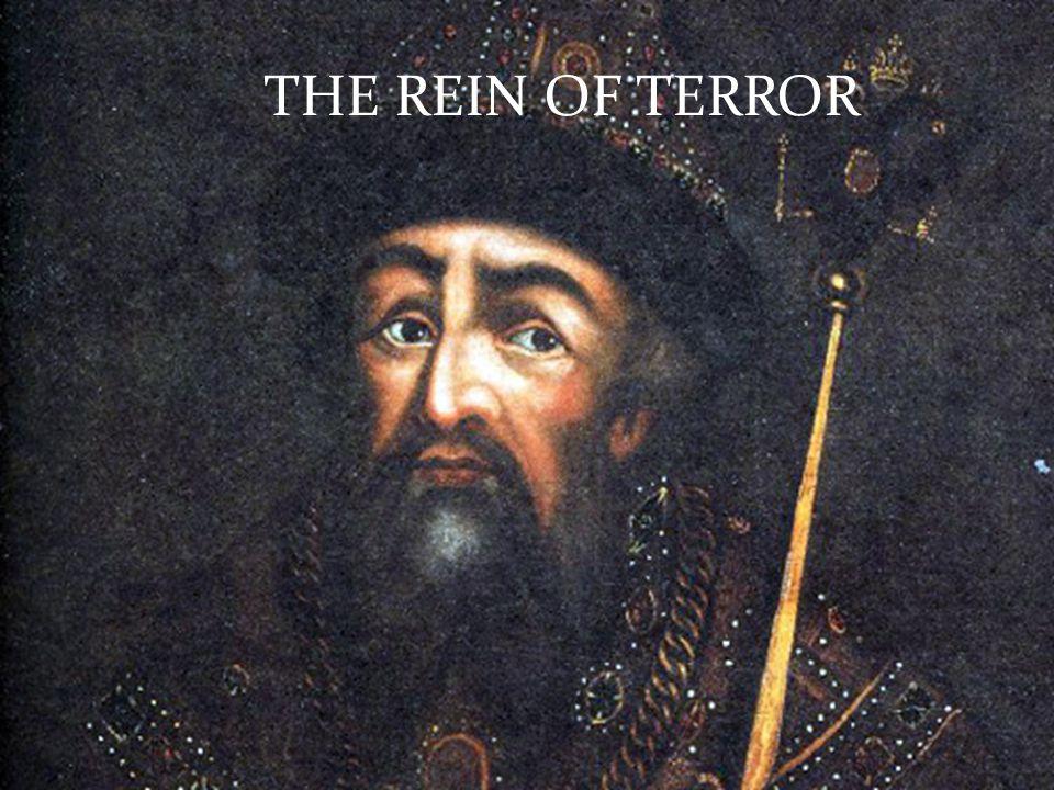 THE REIN OF TERROR