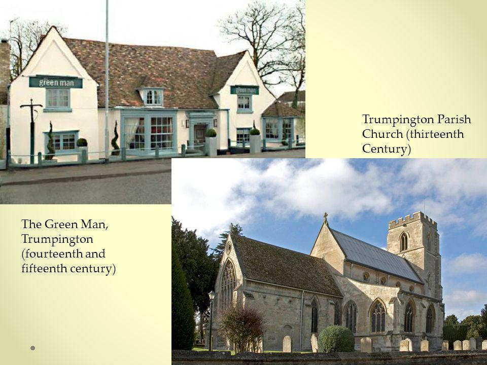 The Green Man, Trumpington (fourteenth and fifteenth century) Trumpington Parish Church (thirteenth Century)
