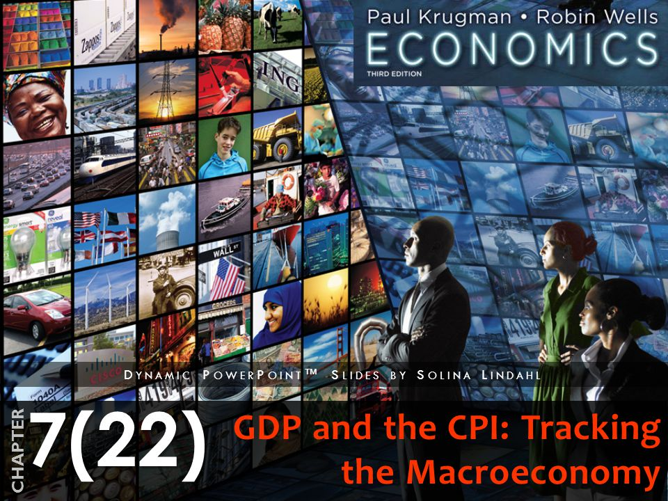 7(22) CHAPTER D YNAMIC P OWER P OINT ™ S LIDES BY S OLINA L INDAHL GDP and the CPI: Tracking the Macroeconomy
