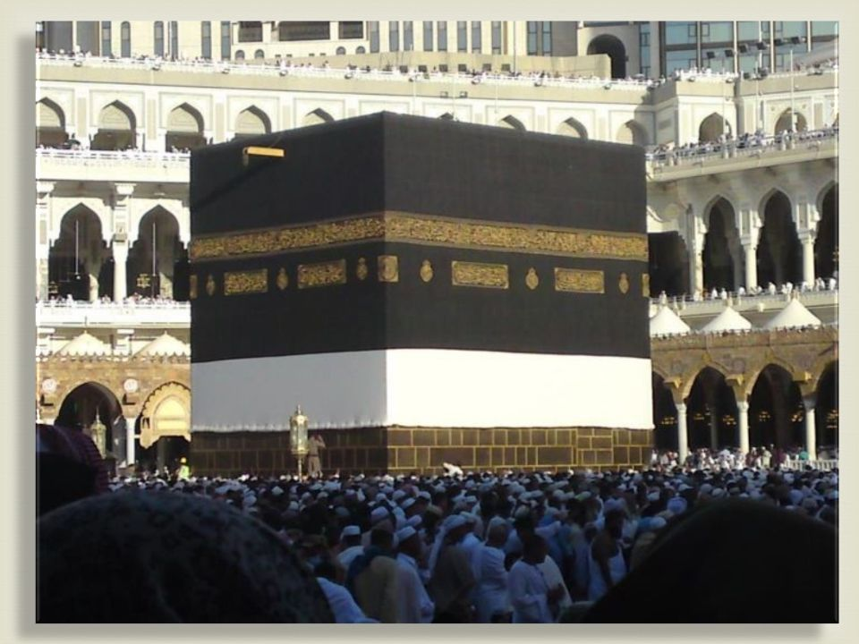  Kabba The foundation of the Kabba is said to have been built by Abraham