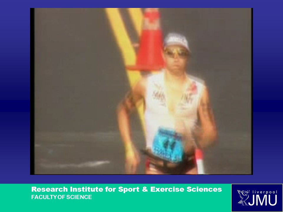 Research Institute for Sport & Exercise Sciences FACULTY OF SCIENCE THANK YOU