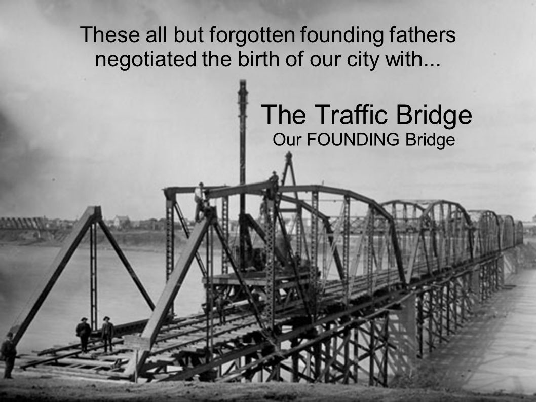With our new bridge we said goodbye... to an era of dependence and uncertainty.