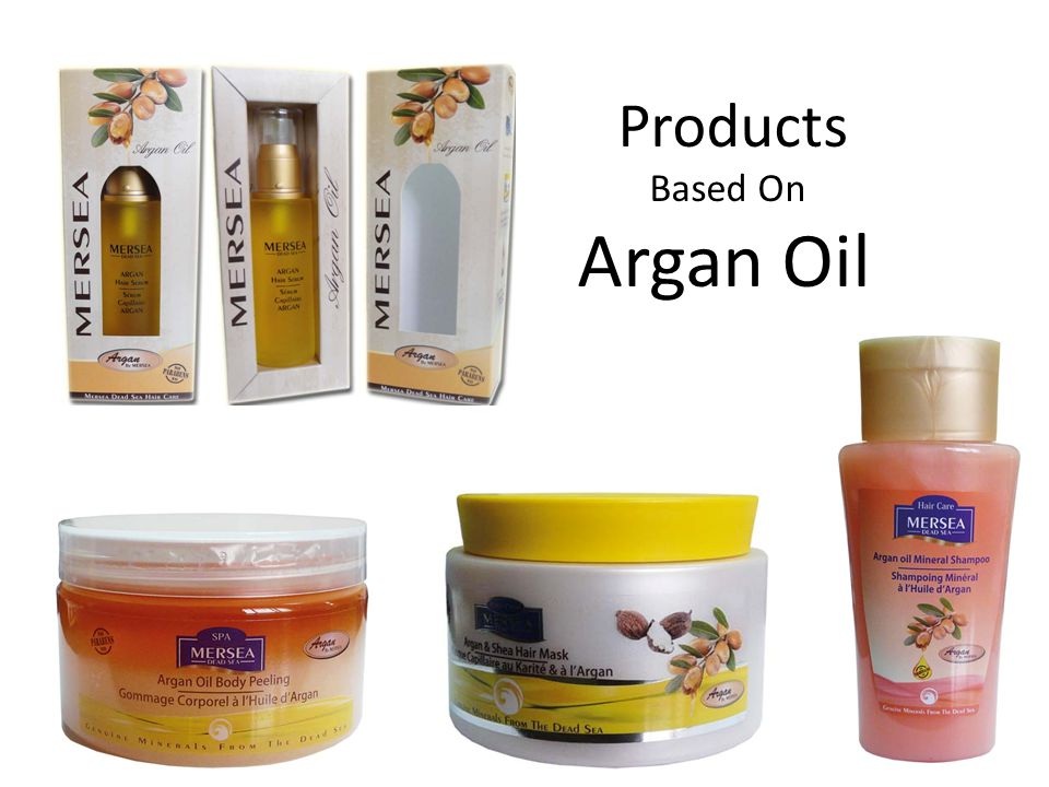 Products Based On Argan Oil