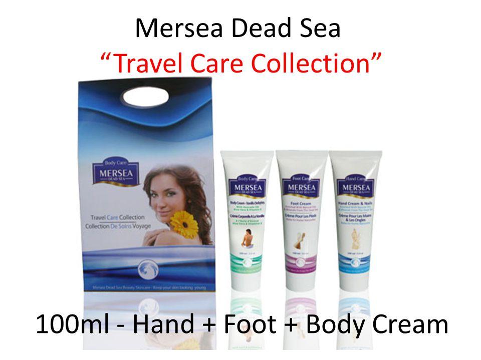 Mersea Dead Sea Travel Care Collection 100ml - Hand + Foot + Body Cream