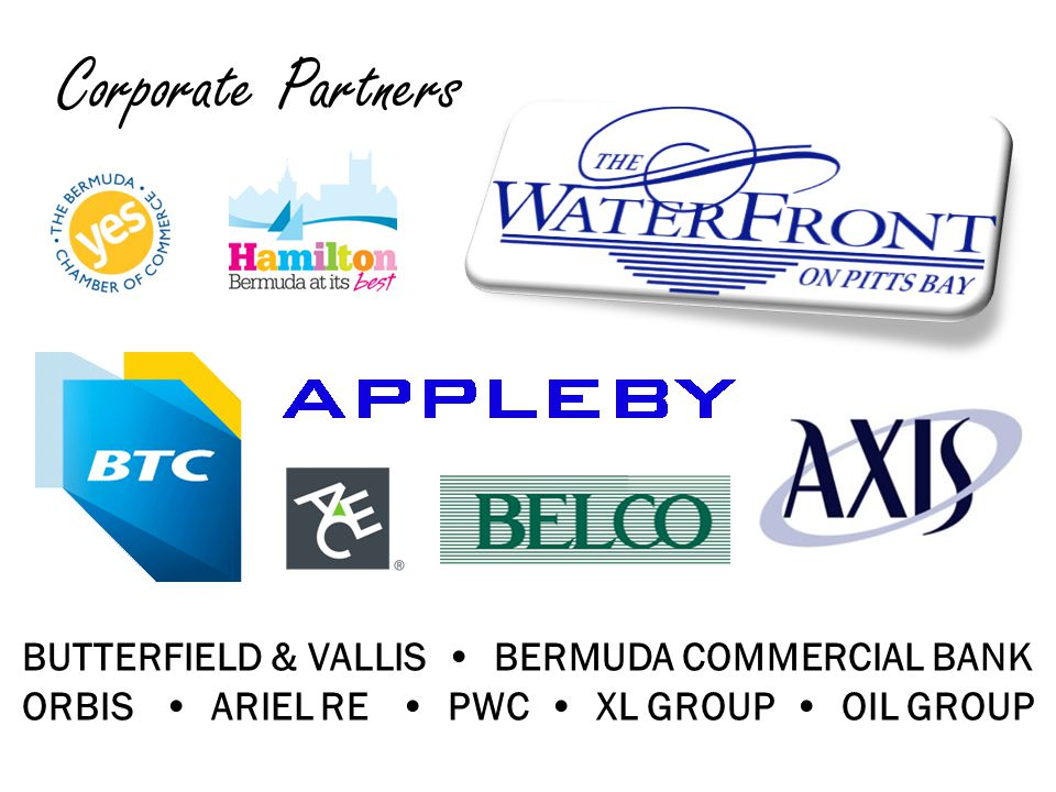 Corporate Partners BUTTERFIELD & VALLIS BERMUDA COMMERCIAL BANK ORBIS ARIEL RE PWC XL GROUP OIL GROUP