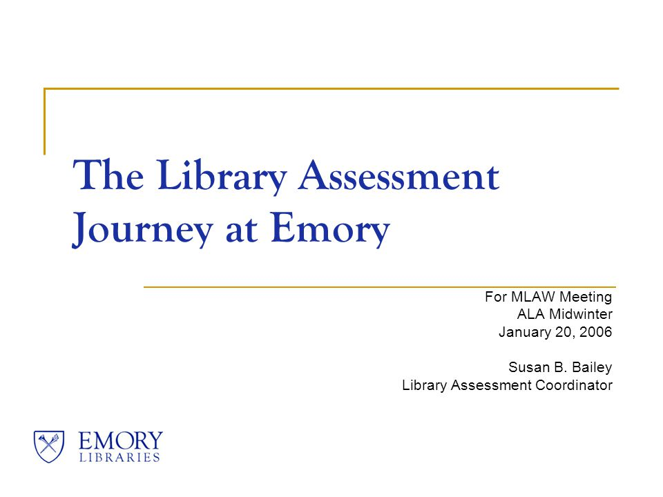 Emory Libraries Robert W.