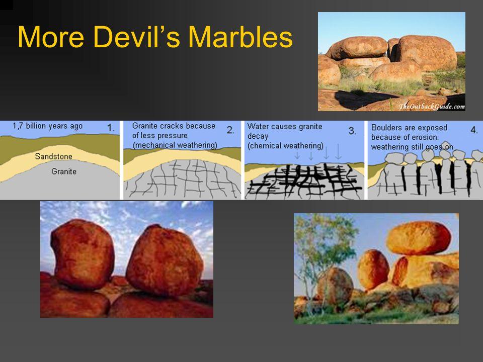 More Devil's Marbles
