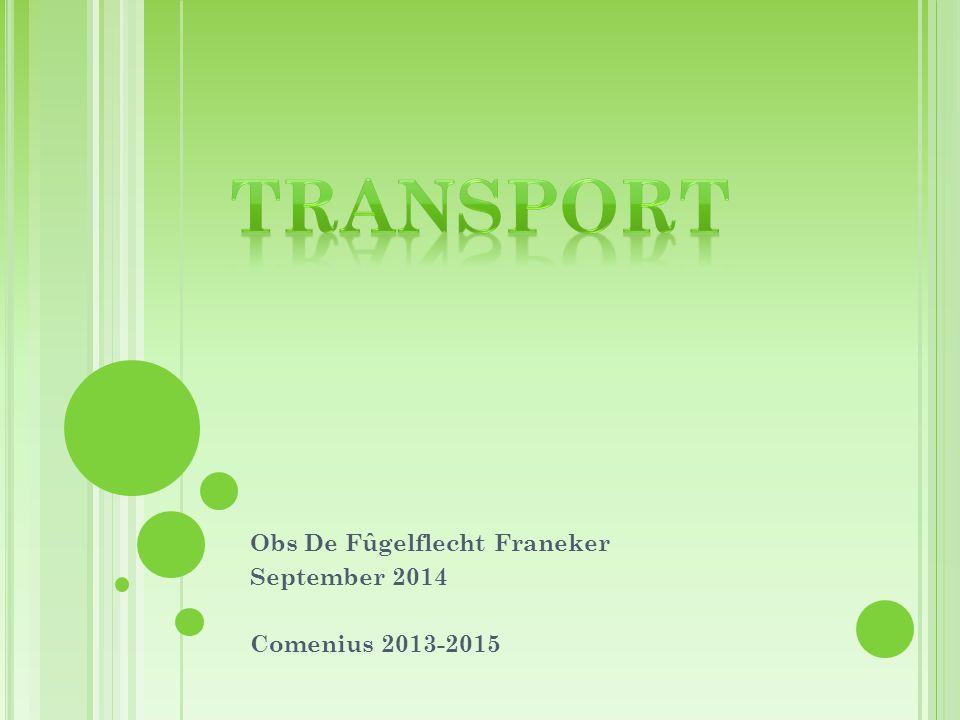 Obs De Fûgelflecht Franeker September 2014 Comenius 2013-2015