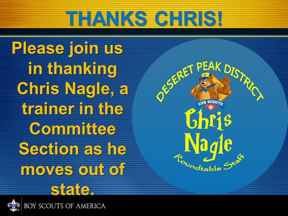 THANKS CHRIS.