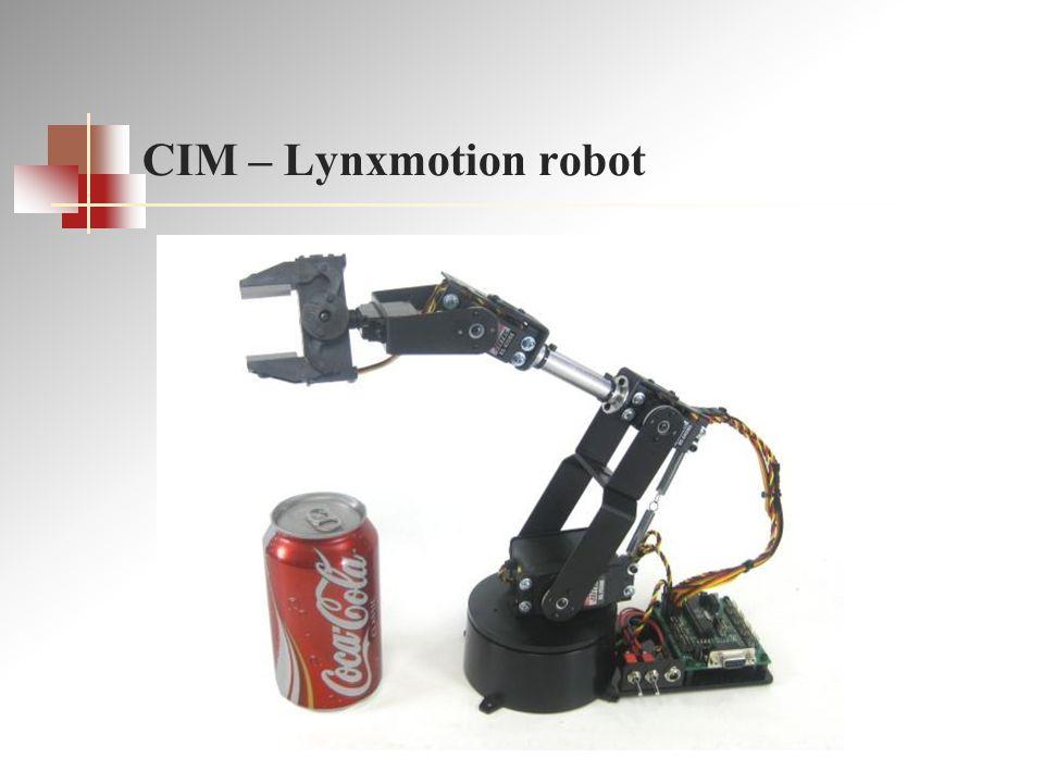 CIM – Lynxmotion robot