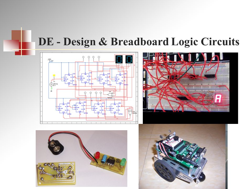 DE - Design & Breadboard Logic Circuits