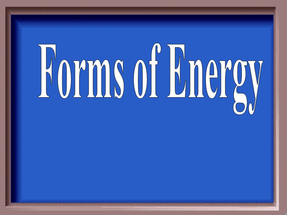 What is the law conservation of energy?