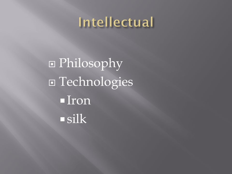 Philosophy  Technologies  Iron  silk