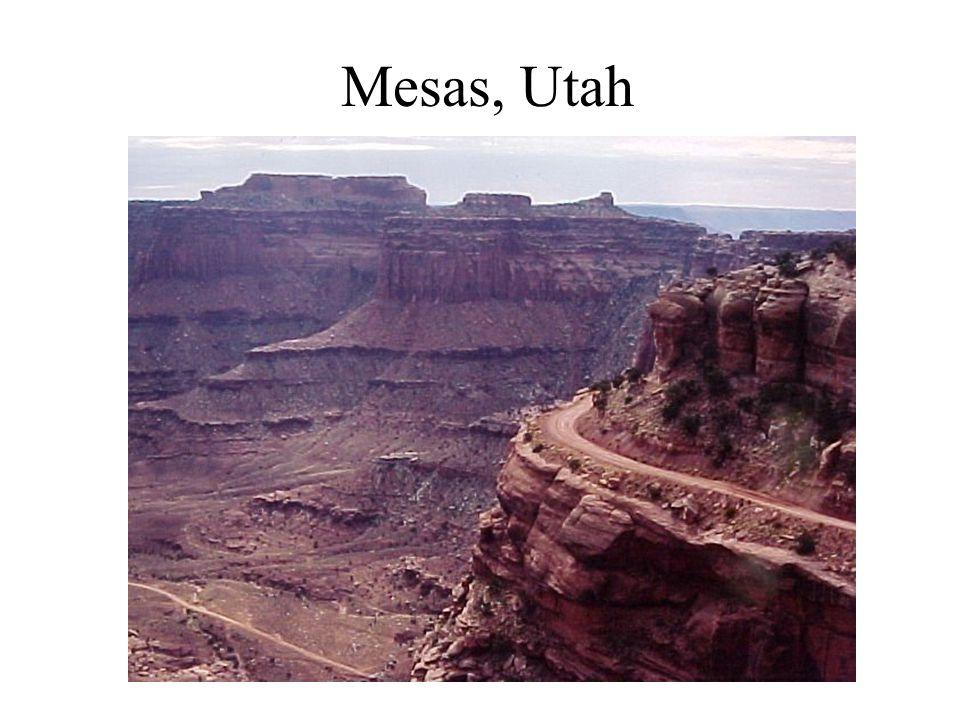 Mesas, Utah