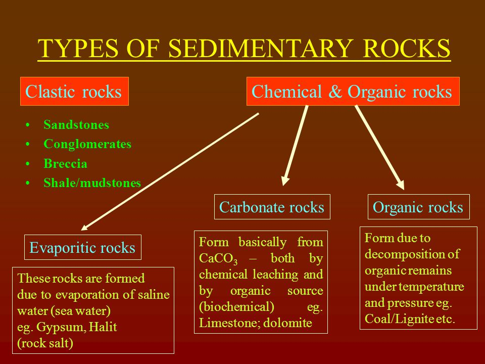 IMPORTANCE OF SEDIMENTARY ROCK Present is the key to the past Helps in knowing depositional environment viz.