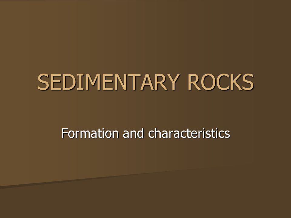 CLASTIC SEDIMENTARY ROCK The fragments of pre-existing rocks or minerals that make up a sedimentary rock are called.
