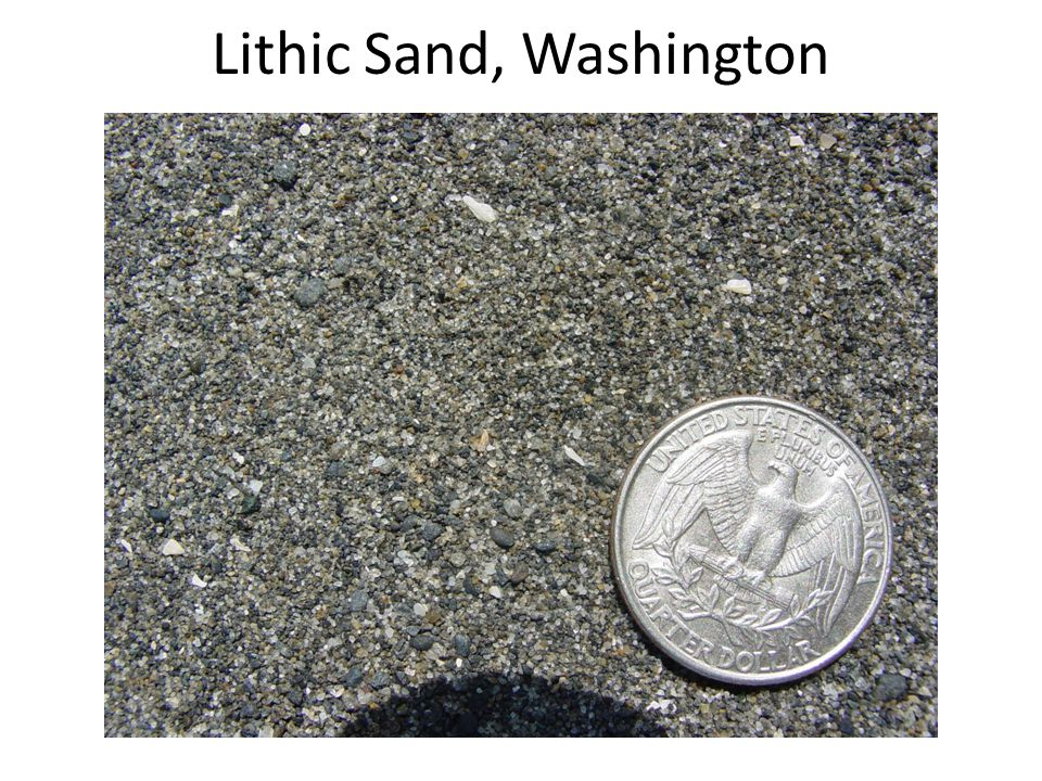 Lithic Sand, Washington