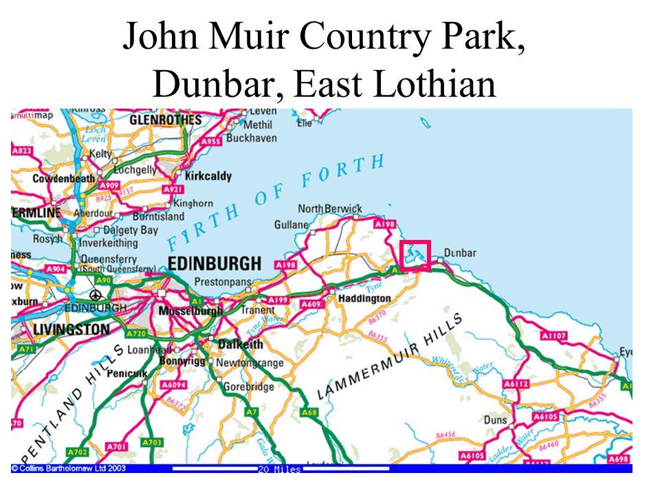 John Muir Country Park, Dunbar, East Lothian
