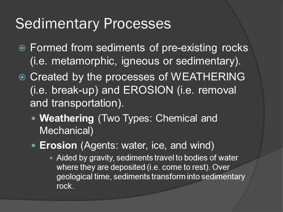 Core Lab 3 – Sedimentary Rocks