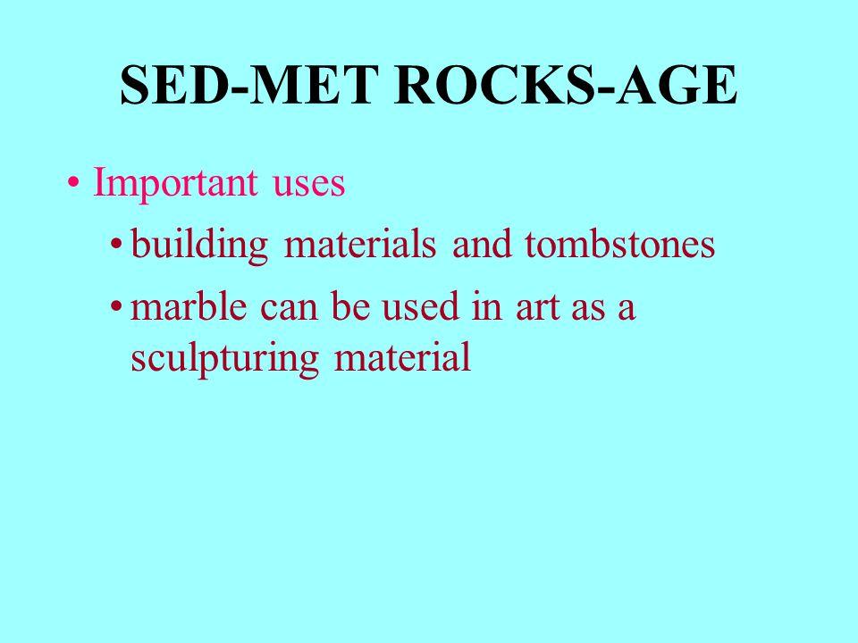 Non foliated Metamorphic Rocks Quartzite (from arkose) Marble