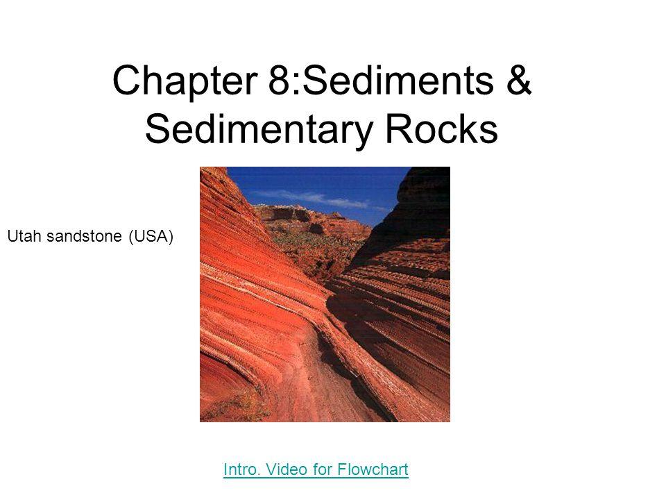Chapter 8:Sediments & Sedimentary Rocks Utah sandstone (USA) Intro. Video for Flowchart