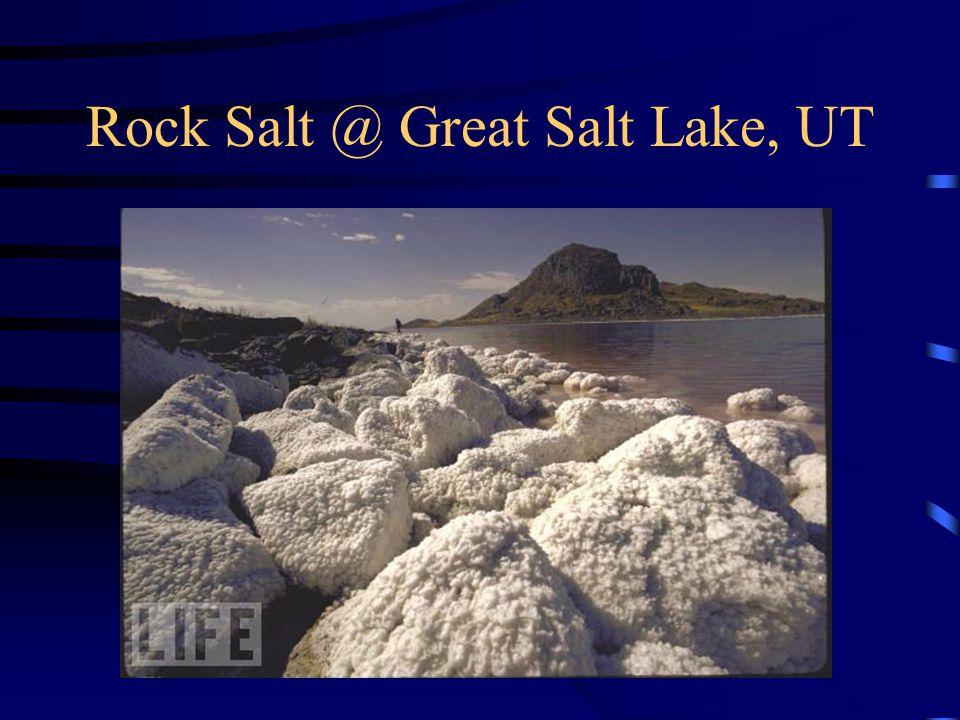 Rock Salt @ Great Salt Lake, UT