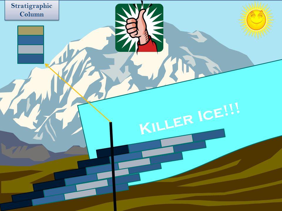Killer Ice!!! Stratigraphic Column