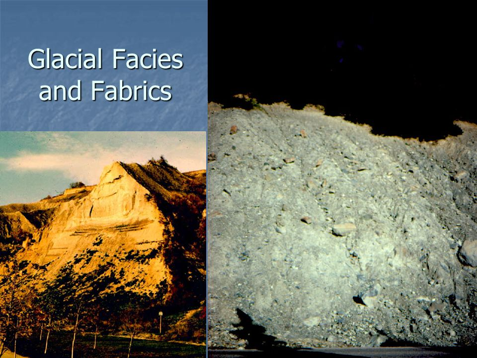 General Review of Facies Facies Facies A body of sediment with a distinctive combination of properties that distinguish it from neighboring sediments.