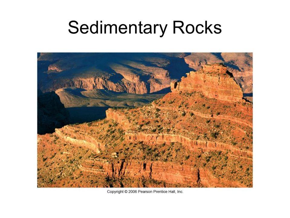Sedimentary Rocks. Sedimentary rocks form when sediment is ...